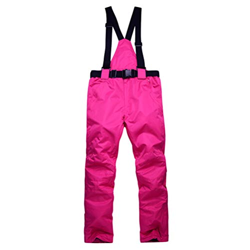 Neborn Pantalones de esquí para Hombres y Mujeres Pantalones de Snowboard de Invierno Prueba de Viento a Prueba de Viento Pantalones de Snowboard de esquí de Invierno