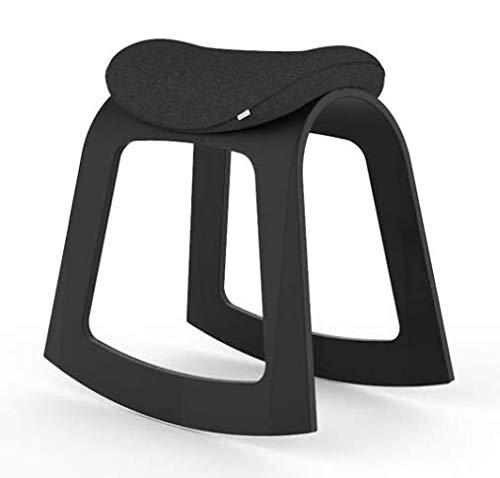 Muista Active Chair - Silla mecedora de oficina, silla de oficina, silla ergonómica, giratoria, mecedora adecuada para la espalda, para músicos