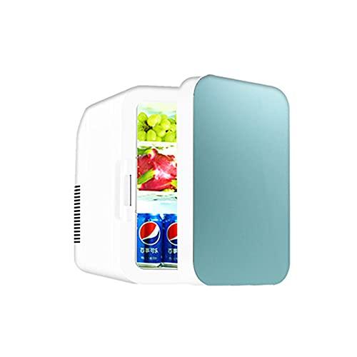 CNAJOI-TDFY 2 En 1 Mini Refrigerador, 22 litros Fridge con Función De Enfriamiento Y Calefacción 12 Voltios En El Encendedor De Cigarrillos Y Enchufe De 220 Voltios, Azul-Blau  Einzelprozessor
