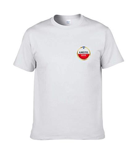 AILIBOTE Amstel Camisetas para Hombre