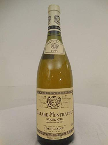 bâtard-montrachet louis jadot grand cru blanc 1995 - bourgogne france: une bouteille...