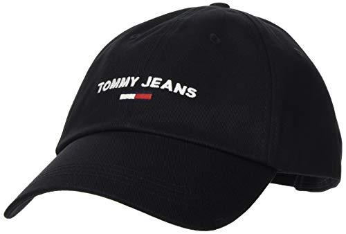 Tommy Hilfiger TJM Sport Cap Gorro/Sombrero, Negro, OS para Hombre