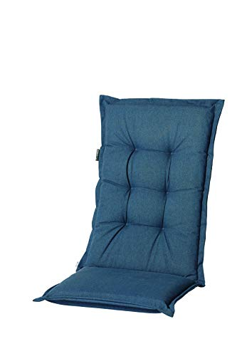 Madison Oxford - Cojín para Silla de Respaldo Alto, Color Azul