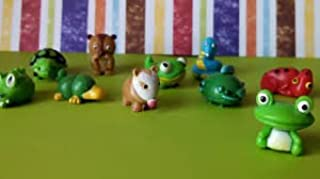 JUNGLE MANIA - Complete Set of 5 RARE Squishies W/ GAME CODES FOR SQWISHLAND WEBSITE