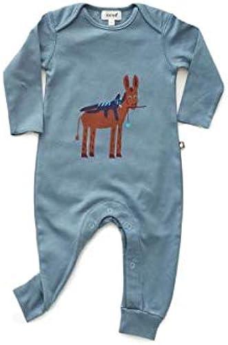 Oeuf Baby Clothes Jumper-Citadel Blau donkey-3 6M
