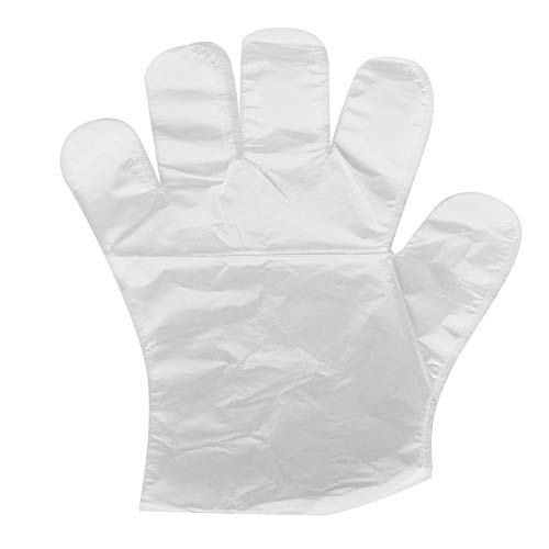 280 stuks wegwerp plastic handschoenen voor huishoudelijke keuken koken schoonmaken