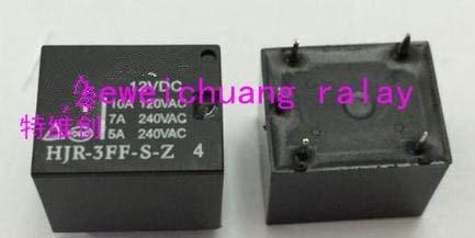 Calvas (10PCS) original rate relay HJR-3FF-S-Z 12VDC 12V / 5 feet/a group of environmental protection