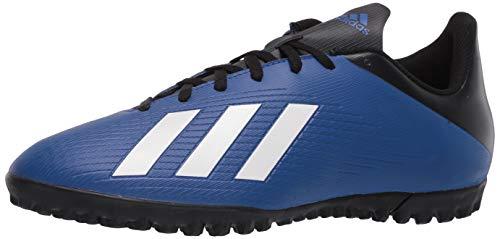 adidas Men's X 19.4 Turf Boots Soccer Shoe, Team Royal Blue/FTWR White/core Black, 12.5 M US