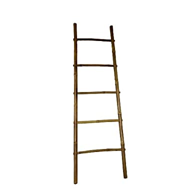 Master Garden Products Bamboo Ladder Rack, 72H