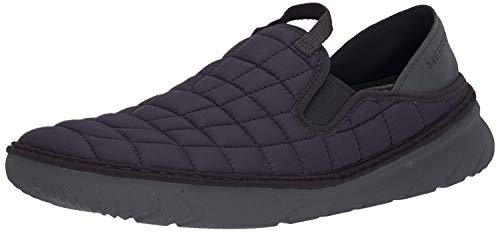 Merrell Men's HUT MOC Shoe, Triple Black, 10 M US