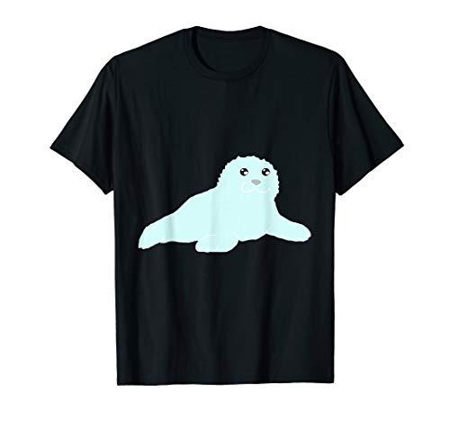 Seelöwe Robben Baby Seerobbe Seehund Hundsrobben T-Shirt