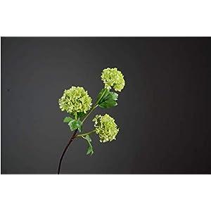 ZJJZH Artificial Decorative Flowers Hydrangea high-Grade Artificial Flower Three-Headed Snowball Flower 66cm Flower Products Include:Artificial Flowers,Decorative Artificial Plants,Decorative Plants.