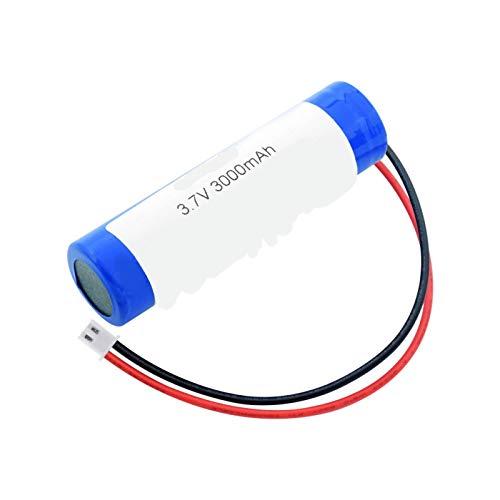 CNMMGL 18650 3.7v 3000mah Batería, BateríAs Recargables con El Enchufe De Xh 2.54mm 2pin para El Banco del Poder De DIY