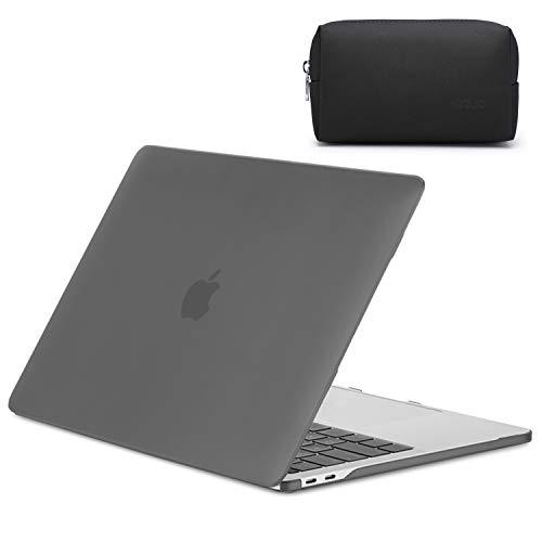 HYZUO 13 Pulgadas Funda Dura Compatible con 2020 MacBook Air 13 A2179 Carcasa Rígida Protectora de Plástico Lisa Mate Ultra Delgado Shell Case Cover para MacBook Air 13 con Pequeña Bolsa