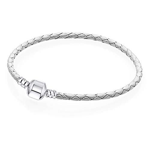 YUNLAN Charm bracelet cute mouse snake chain fine basic bracelet suitable for women fashion charm beaded Diy jewelry bracelet (Color : 16, Size : 16 cm)