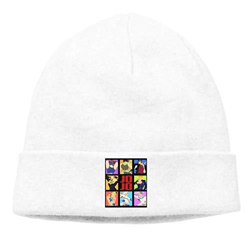 ASKYE Lil Peep Logo Skull Hats Knitted Cap Beanie White