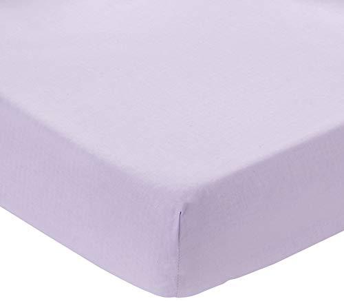 ComfortBaby 00010060-68 Spannbettlaken Beistellbett Plus, violett
