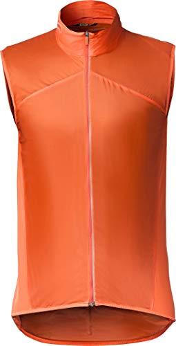 MAVIC Sirocco SL Weste Herren red-orange Größe S 2020 Fahrradweste