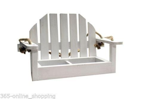Weiß Tisch Form Wandbehang Futterstelle Für Vögel