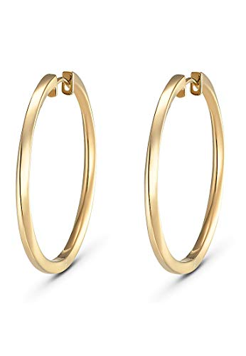 JETTE Silver Damen-Creolen 925er Silber One Size Gold 32010184