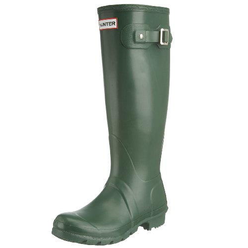 Hunter Original Tall Classic, Botas de Agua para Unisex Adulto, Verde (Green), 35.5 EU