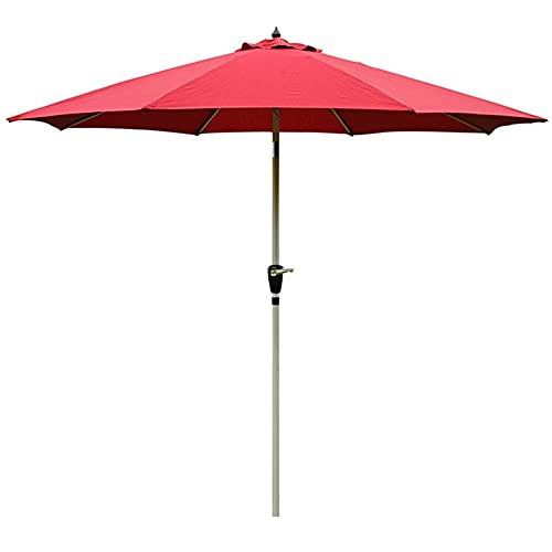 Patio Paraguas, Sunbrella, Paraguas del mercado con inclinación de botón de empuje, paraguas de jardín al aire libre grande Cantilever impermeable a prueba de viento, paraguas de patio Liquidación con