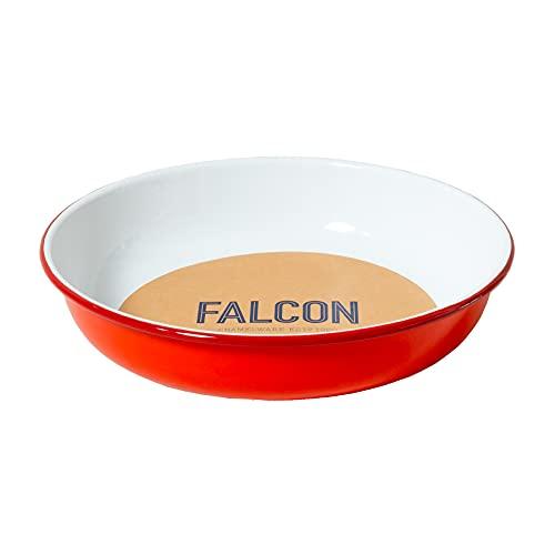 Falcon Enamelware - Insalatiera media, colore: Rosso