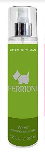 Ferrioni Terrier Green de Ferrioni para Dama Body Mist Spray 250 ml