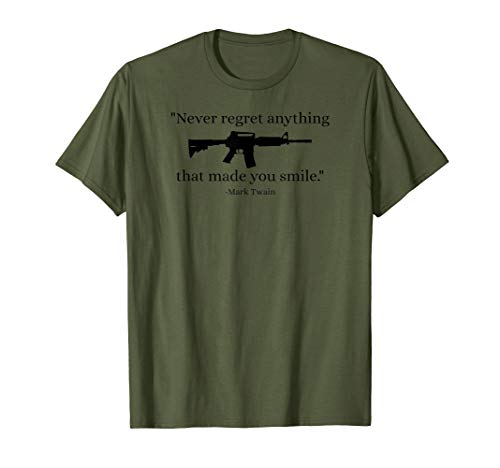 AR15 Rifle Accessories Military Tactical AR 15 Upper Gear T-Shirt