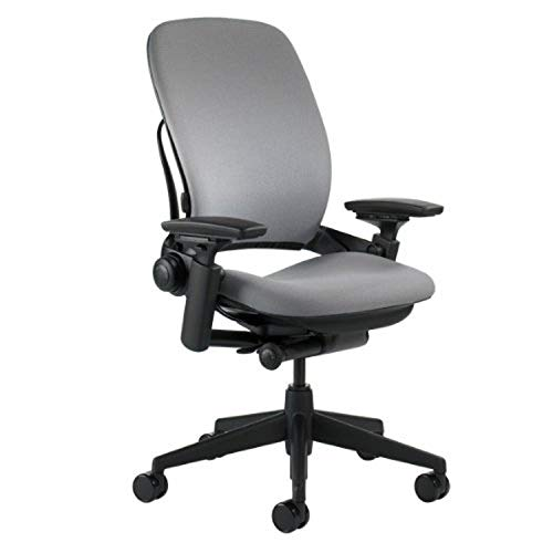 Steelcase Office Chair, Grey - 5' Cylinder