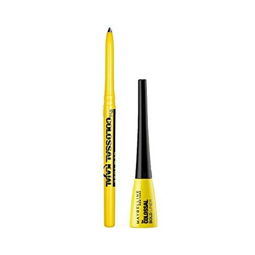 Maybelline New York Colossal Bold Liner & Colossal Kajal – EYE KIT COMBO (Pack Of 2), 7.4 g