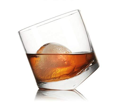 Z-Y Wijnglazen rood Schotland Whisky Rock Glass Bar Night Club Wijn Cocktail Whiskey Cup Bril 10 Oz cognac borrel Verre #Z (Capacity : 300ml, Color : Clear)