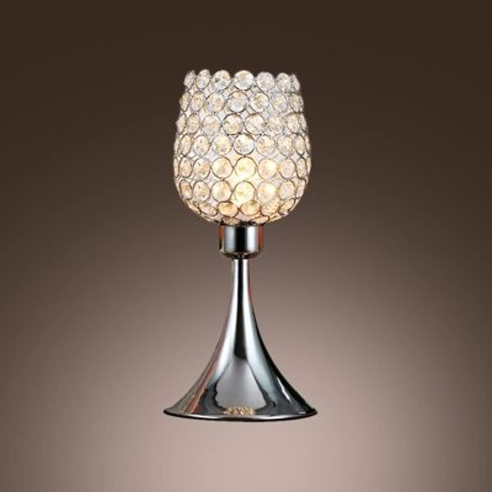 fei Beautiful Fashionable Table Lamp Features Vase-style Frame and Mounted with Crystal Beads