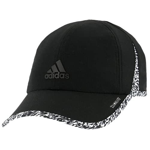 adidas Gorra Superlite para Mujer, Mujer, 976611, Negro/Blanco / 3D Pixel, Talla única