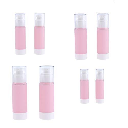 Homyl 8pcs Bouteilles Aluminium Atomiseur Spray Parfum Récipient Liquide de Coiffure et Maquillage Vaporisateur à Brouillard D'eau Portable