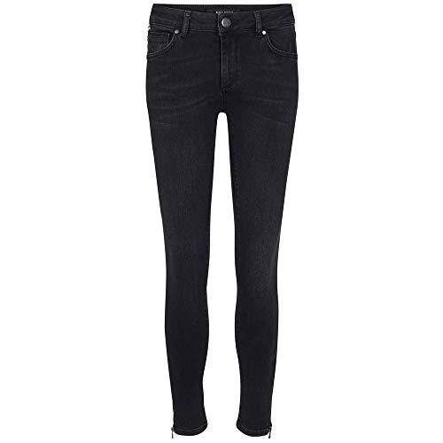 Mos Mosh Jeans Victoria Check 26 anthrazit