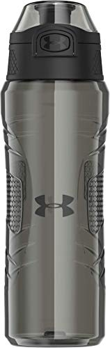 Under Armour Draft 24 Ounce Water Bottle, Charcoal