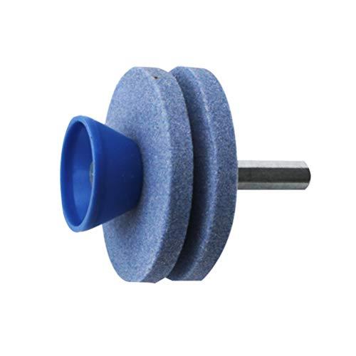 iplusmile Lawn Mower Sharpener for Power Drill Hand Drill Faster Blade Sharpener