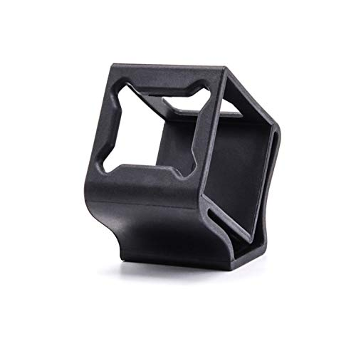 TCMMRC Mold Open Rubber Camera Protector Mount Case Seat 30° for FPV Racing Drone Quadcopter Frame (Black)