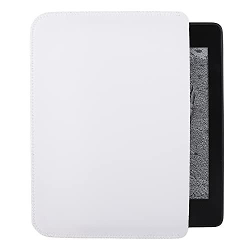 킨들 페이퍼화이트용 가드V 가죽 시리즈 - 보호 슬리브 커버 케이스 파우치(화이트)