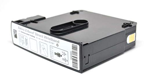 Zebra z-band direct-étiquettes printer (zwart wit van polypropyleen thermotransfer 25,4 x 279,4)