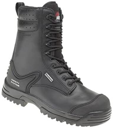 Himalayan Mens Leather Combat Boot