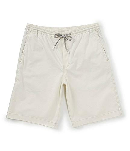 Tommy Bahama Lightweight Boracay Pull On Shorts (Color: Bleached Sand, Size XXL)