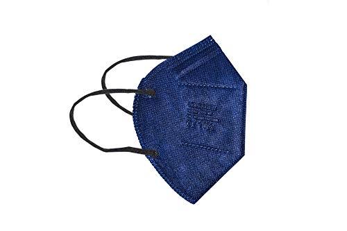 LCLEADER 20 máscaras FFP2 envueltas individualmente (azul).