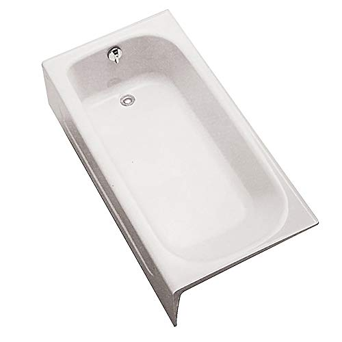 TOTO Fby1515Lpno.01 Enameled Cast Iron Bathtub, Cotton