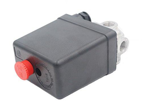 Grapelet Neu 220V Druckschalter Schalter Fuer Kompressor Kompressoren
