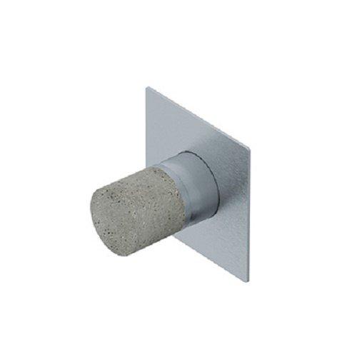 Rubinetteria Ritmonio Diametro35 Inox Concrete miscelatore doccia E0BA0140ICM