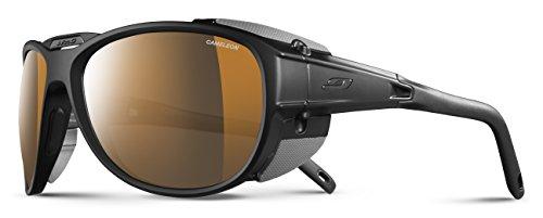 Julbo Explorer 2.0Cameleon–Gafas de Sol, Lente ahumada, fotocromáticas, Hombre, Hombre, Color Noir Mat/Noir, tamaño Talla única