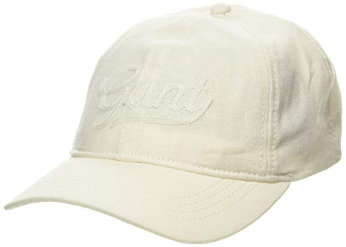 Gant D2. Summer Stroll Cap Gorra de béisbol, Marfil (Cream 130), Talla Única (Talla del Fabricante: Oversize) para Mujer
