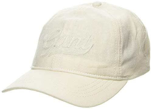 GANT Damen D2. Summer Stroll Baseball Cap, Elfenbein (Cream 130), One Size (Herstellergröße: Oversize)